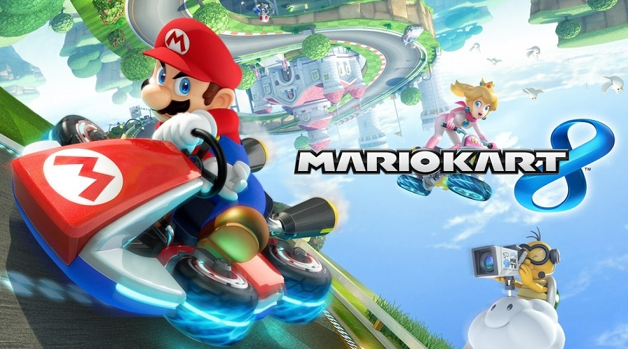 Games like Mario kart 8