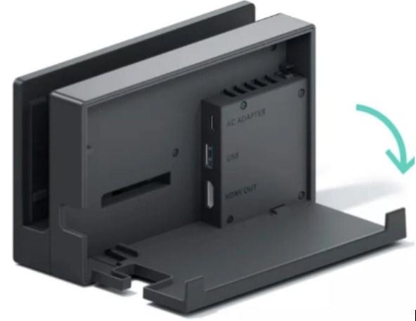 Put the Nintendo Switch dock
