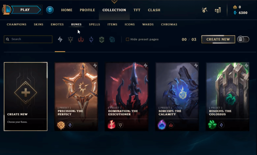 Rune Pages
