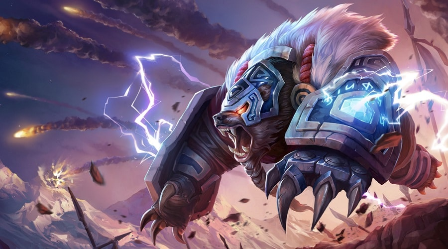 Volibear Skins in League of Legends