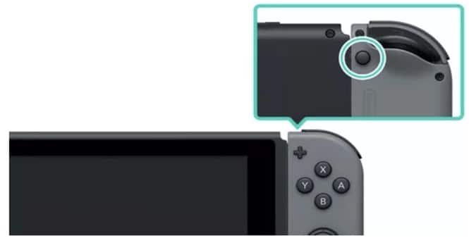connect to the switch through