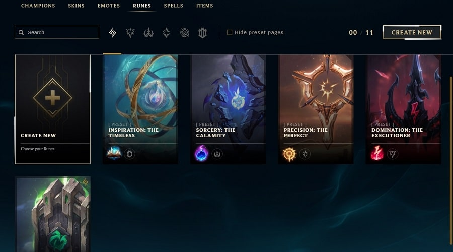 get more Rune pages