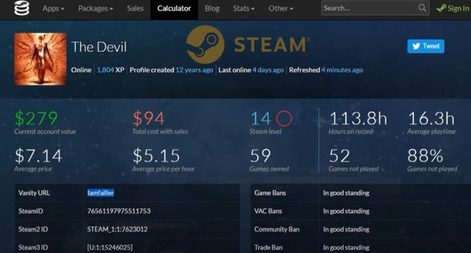 How Much Is My Steam Account Worth