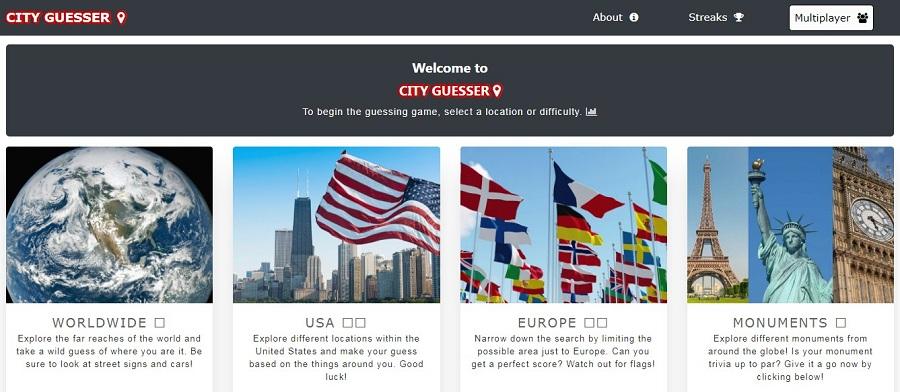 City Guesser
